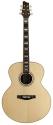Stagg NA57J Akustische Jumbo Gitarre mit massiver A-Klasse Fichtendecke