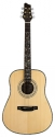 Stagg NA76 Akustik Dreadnought Gitarre mit massiver Fichtendecke