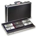 Stagg UPC-688 Pedalboard-Case/ Koffer für Effektgeräte inklusive Klettband