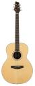 Stagg NA72MJ Akustische mini-Jumbo Gitarre mit massiver A-Klasse Fichtendecke