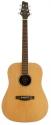 Stagg NA60 Akustische Dreadnought Gitarre mit massiver Zederndecke