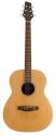 Stagg NA60F Akustische Folkgitarre mit massiver Fichtendecke