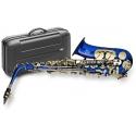 Stagg 77-SA/BL Alt Saxophon, Hoch Fis-Klappe, im ABS-Koffer