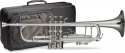 Stagg 77-T HG/SL B-Trompete Pro, im ABS-Koffer