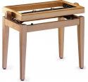 Stagg PB45 MP P Klavierbank in Ahorn poliert Modell PB 45