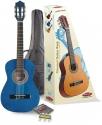 Stagg C505BL 1/4 Klassikgitarren-Set in blau mit Fichtendecke