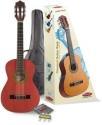Stagg C505TR 1/4 Klassikgitarren-Set in rot mit Fichtendecke