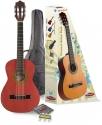 Stagg C510 TR 1/2 Klassikgitarren-Set in rot mit Fichtendecke