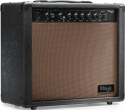 Stagg 20 AA R EU 20 W RMS Akustik-Gitarrenverstärker mit Federhall