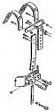 Stagg MK1850 Marching Tragegestell für Snare