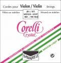 Corelli Crystal 700MB Saitensatz 4/4 Geige/Violine E-Saite Stahl mittel