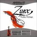 D`Addario Zyex Saitensatz 4/4 Geige/Violine E-Saite Stahl verzinkt mittel