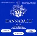 Hannabach Saiten blau für Klassik Gitarre Nylon versilbert umsponnen