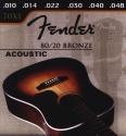 Fender Gitarrensaite A5 für Akustik-Gitarre Bronze