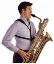 Neotech Saxophongurt Soft Harness mit Kunststoffkarabiner