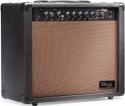 Stagg 40 AA R EU 40 W RMS Akustik-Gitarrenverstärker mit Federhall