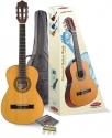 Stagg C505 1/4 Klassikgitarren-Set in natur mit Fichtendecke
