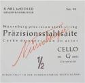 Nürnberger Präzision G-Saite für 1/2 Cello