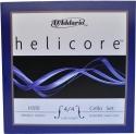 D`Addario Helicore Saitensatz mit Kugel medium für 4/4 Cello D Titan