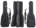 Gewa 4/4 Gitarrentasche in schwarz für 1x Western und 1x E-Gitarre 25mm DOUBLE BAG Prestige 25 Line für 2 Gitarren
