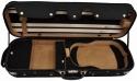 Steinbach 4/4 Geigenkoffer de Luxe Rechteckmodell Beige/Schwarz