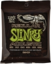 Ernie Ball Gitarrensaiten für Westerngitarre Slinky Acoustic Regular 012 - 054