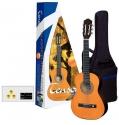 GEWApure 3/4 Konzertgitarren Starter-Set mit honigfarbiger Gitarre inkl. Zubehör