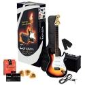 GEWApure 4/4 E-Gitarre Starter-Set mit sunburst Gitarre inkl. Zubehör