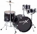 Basix Kinderschlagzeug in schwarz, Set 2