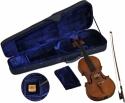 Steinbach 4/4 Geige im SET Buchsbaumgarnitur dunkelbraun satiniert