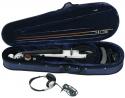 GEWA E-Violine Line II in der Farbe weiss im Set inklusive Kopfhörer und Schulterstütze