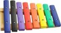 Steinbach Xylophon mit 8 Klangplatten bunt