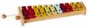 Basix Glockenspiel G11 11 bunte Klangplatten diatonisch