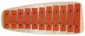 Basix Glockenspiel GH11R 11 rote Klangplatten