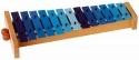 Basix Glockenspiel G13 13 blaue Klangplatten diationisch ABVERKAUF