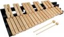 Steinbach Xylophon mit 30 Klangplatten naturfarbenen Holz zweireihig