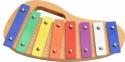 Steinbach Glockenspiel 8 bunte Klangplatten diatonisch Tonumfang c''-c'''
