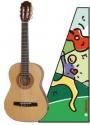 Hohner Konzertgitarre HC-Serie 1/2 für Kinder