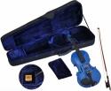 Steinbach 1/2 Geige im SET blau handgearbeitet