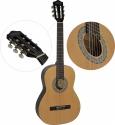 Steinbach 1/2 Konzertgitarre mit gemaserter Fichtendecke natur
