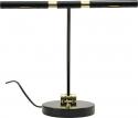 Jahn LED- Klavierlampe in Schwarz glanz