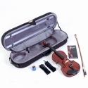 MENZEL VL501 Violine Set 1/4, Fichtendecke massiv, angeflammter Ahornboden, mit Comfort - Etui ABVERKAUF