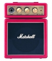 Marshall Verstärker MS-2 Microbe Combo im Miniformat in rot ABVERKAUF