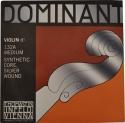 Thomastik 132A Dominant D-Einzelsaite 4/4 Geige/Violine Nylonkern Silber umsponnen mittel