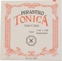 Pirastro Tonica Saitensatz 1/32 - 1/16 Geige/Violine E-Saite Silberstahl mittel