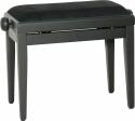 Stagg PB40 BK M Klavierbank in schwarz matt, Modell PB 40