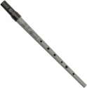 Clarke Pennywhistle in D-Stimmung Tin Whistle The MEG by Clarke silber ABVERKAUF