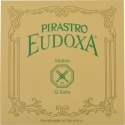 Pirastro Eudoxa Saitensatz 4/4 Geige/Violine Darm E-Saite Stahl Alu umsponnen mittel