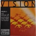 Thomastik VI01 Vision E-Saite 4/4 Geige/Violine Stahl verzinnt mittel