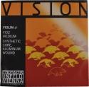 Thomastik VI02 Vision A-Saite 4/4 Geige/Violine Nylonkern Alu umsponnen mittel